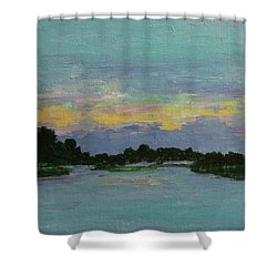 Savannah Sunrise Shower Curtain by Gail Kent
