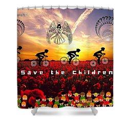 Save The Children Shower Curtain