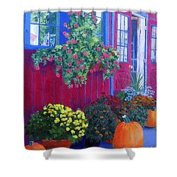 Savickis Market Shower Curtain