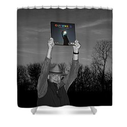Saving Eliza Shower Curtain by Don Spenner