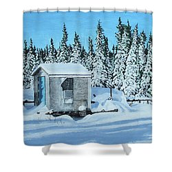 Sawmill Shower Curtain
