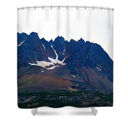 Sawtooth Alaska Shower Curtain