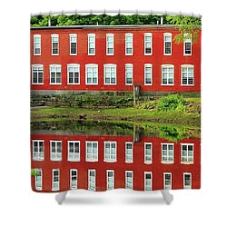 Sawyer Mill Reflection Shower Curtain
