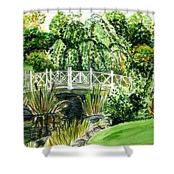 Sayen Bridge Shower Curtain