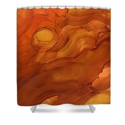 Saying Good Night Shower Curtain
