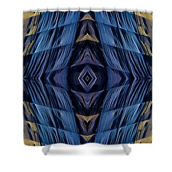 Scaffolding And Tarp 7676 N70v1 Shower Curtain by Raymond Kunst
