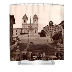 Scalinata Shower Curtain