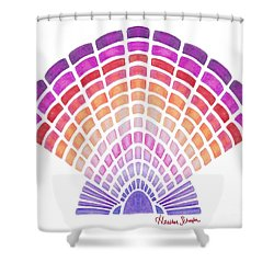 Scallop Shell Shower Curtain