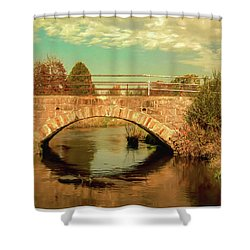 Scandinavia Stone Bridge 1 Shower Curtain