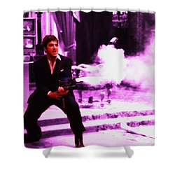 Scarface Grenade Launcher M203 Shower Curtain
