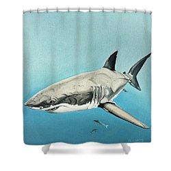 Scarlett Billows Shower Curtain