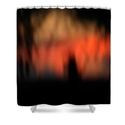 Shower Curtain featuring the photograph Scary Nights by Marilyn Hunt