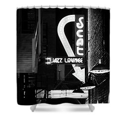 Scat Jazz Bw 11217 Shower Curtain