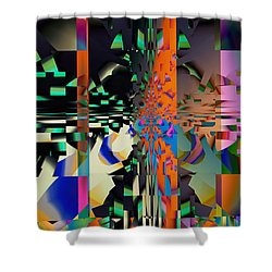 Scattered Dreams Shower Curtain by Jim Pavelle