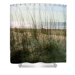 Scene From Hilton Head Island Shower Curtain by Angela Rath