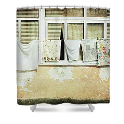 Scene Of Daily Life Shower Curtain
