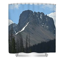 Mountain Scenery Hwy 14 Co Shower Curtain