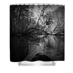 Scenes From A Kayak, No. 8 Shower Curtain