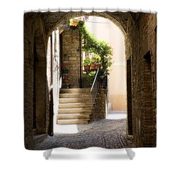 Scenic Archway Shower Curtain by Marilyn Hunt
