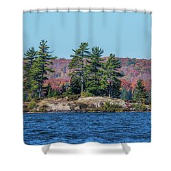 Shower Curtain featuring the photograph Scenic Fall View by Paul Freidlund