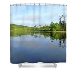 Scenic Gorham Pond #1 Shower Curtain