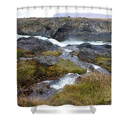 Scenic Intersection Shower Curtain