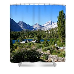 Scenic Mountain View Shower Curtain by Chris Brannen