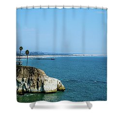 Scenic Outcropping Shower Curtain