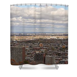 Scenic View Of Montreal Shower Curtain