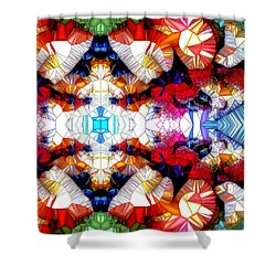 Scent Of The Angels Shower Curtain