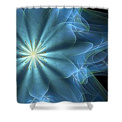 Scenting The Winds Shower Curtain