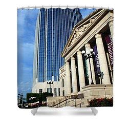 Schermerhorn Symphony Center Nashville Shower Curtain by Susanne Van Hulst