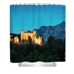 Shower Curtain featuring the photograph Schloss Hohenschwangau by Brian Jannsen