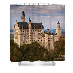 Schloss Neuschwanstein Shower Curtain