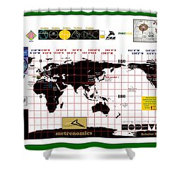 Scholar Navig8rs Shower Curtain by Peter Hedding