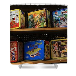 School Lunch Days Remembered Shower Curtain