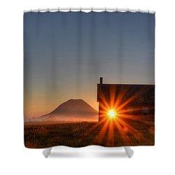 Schoolhouse Sunburst Shower Curtain