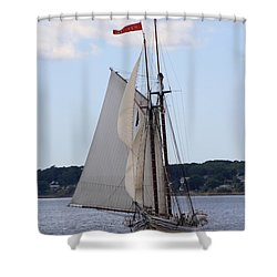 Schooner Heritage Shower Curtain