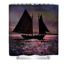 Schooner Mercantile Shower Curtain