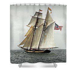 Schooner Pride Of Baltimore II Shower Curtain