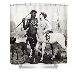 Schutzenberger: Centaurs Shower Curtain