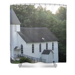 Schuyler Baptist Church Shower Curtain