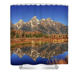Schwabacher Landing Grand Teton National Park Shower Curtain