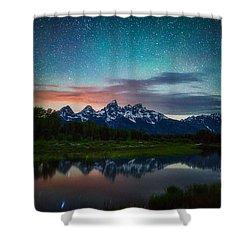 Schwabacher Nights Shower Curtain