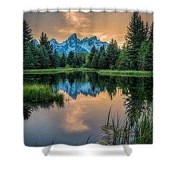 Schwabacher's Ghost Shower Curtain