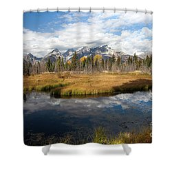 Schwabachers Landing, Grand Teton National Park Wyoming Shower Curtain