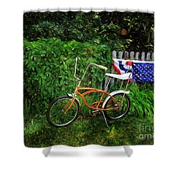 Schwinn Deluxe Stingray 65 Shower Curtain