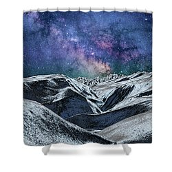 Sci Fi World Shower Curtain
