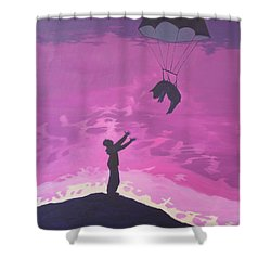 Science And Religion Shower Curtain