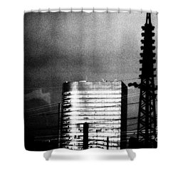 Shower Curtain featuring the photograph Science Fiction by Steven Macanka